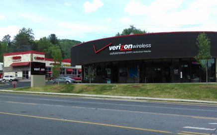 Verizon Wireless: 1407 East Main St, Sylva, NC 28779