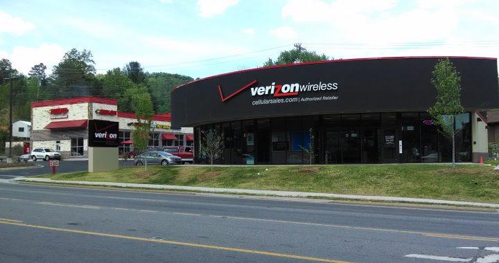 Verizon Wireless: 1407 East Main St, Sylva, NC 28779