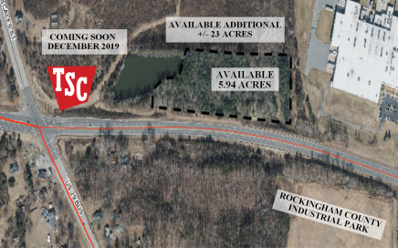 5.94 acres- Intersection of Freeway Drive (Hwy 29) & Scale Street, Reidsville, NC 27320