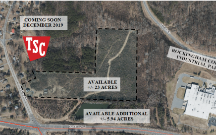 23 Acres- Intersection of Freeway Drive (Hwy 29) & Scale Street, Reidsville, NC 27320