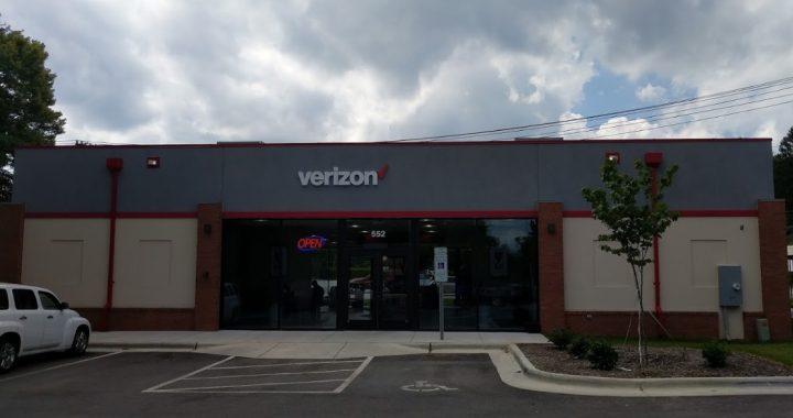 Verizon Wireless: 701 North Broad St., Brevard, NC, 28712