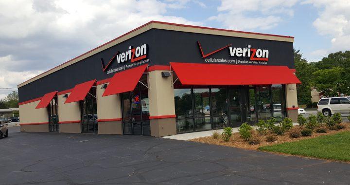 Verizon Wireless: 2885 Reynolda Rd, Winston Salem, NC 27106